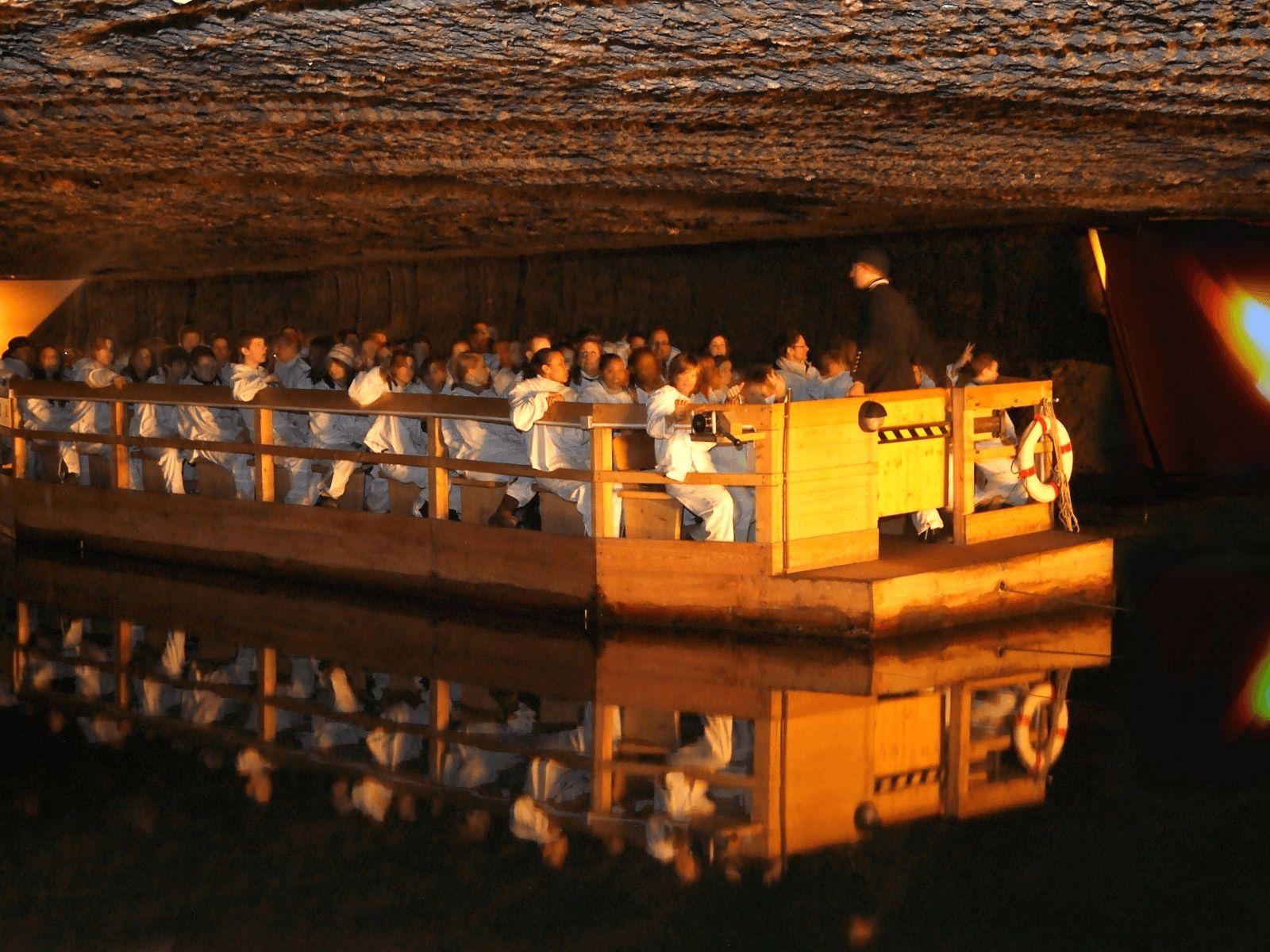 Prag, Munchen i Dresden: Rudnik soli Hallein