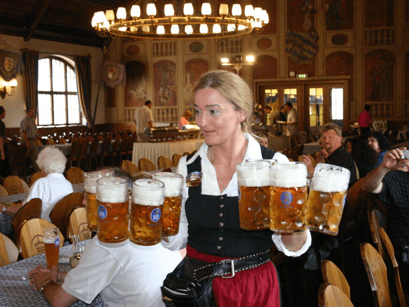 Prag, Munchen i Dresden: Munchen: pivnice