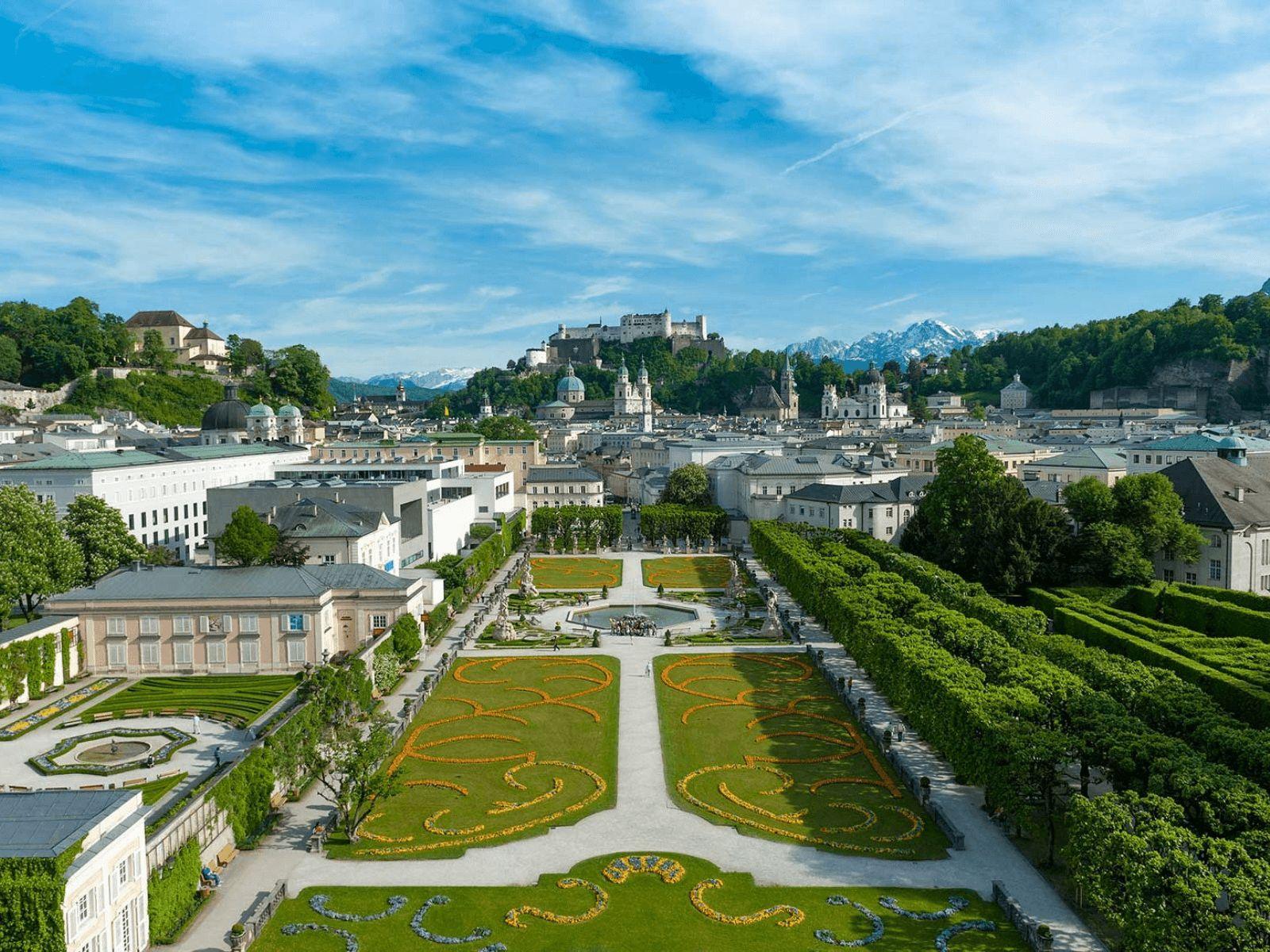 Prag, Munchen i Dresden: Salzburg