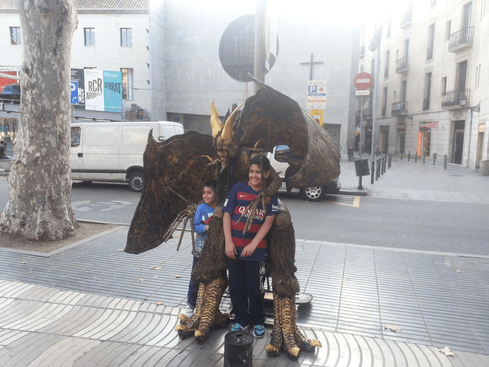 Španjolska i Gardaland: Barcelona: La Rabla