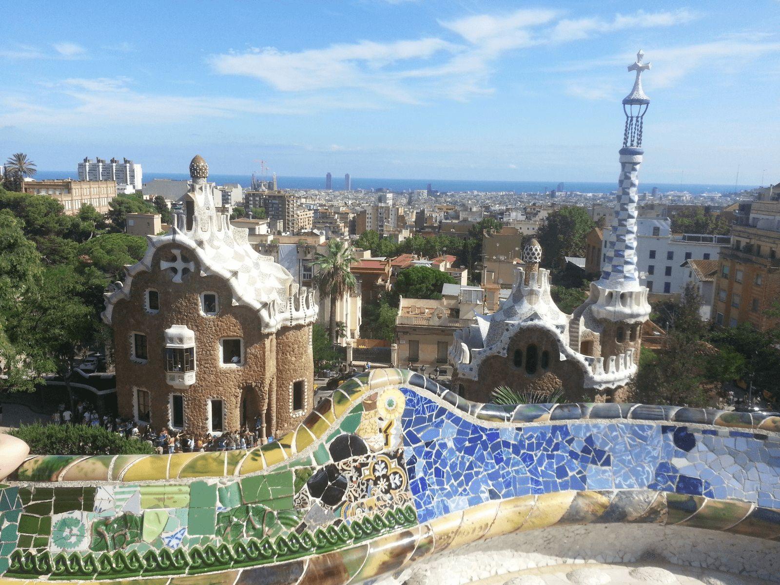 Španjolska i Gardaland: Barcelona: Park Guell