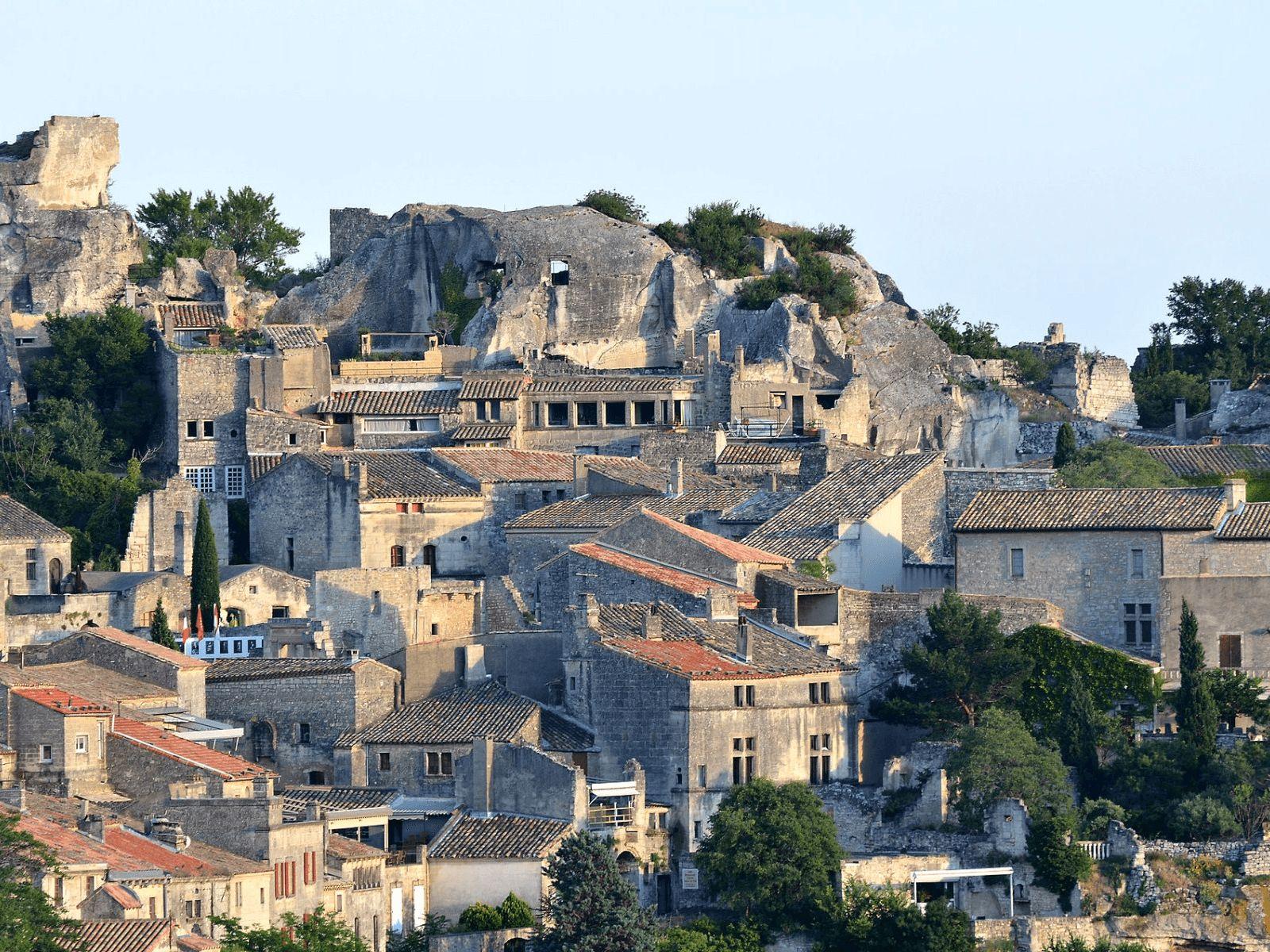 Španjolska i Provansa: Les-Baux-de-Provence