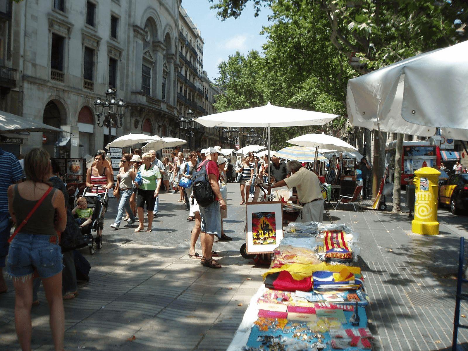 Španjolska i Provansa: Barcelona: La Rabla
