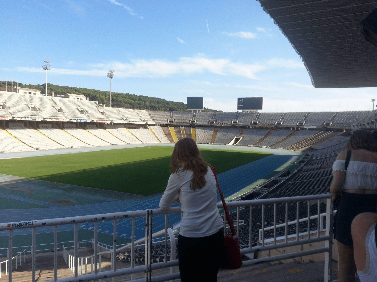 Španjolska i Provansa: Barcelona: Olimpijski stadion