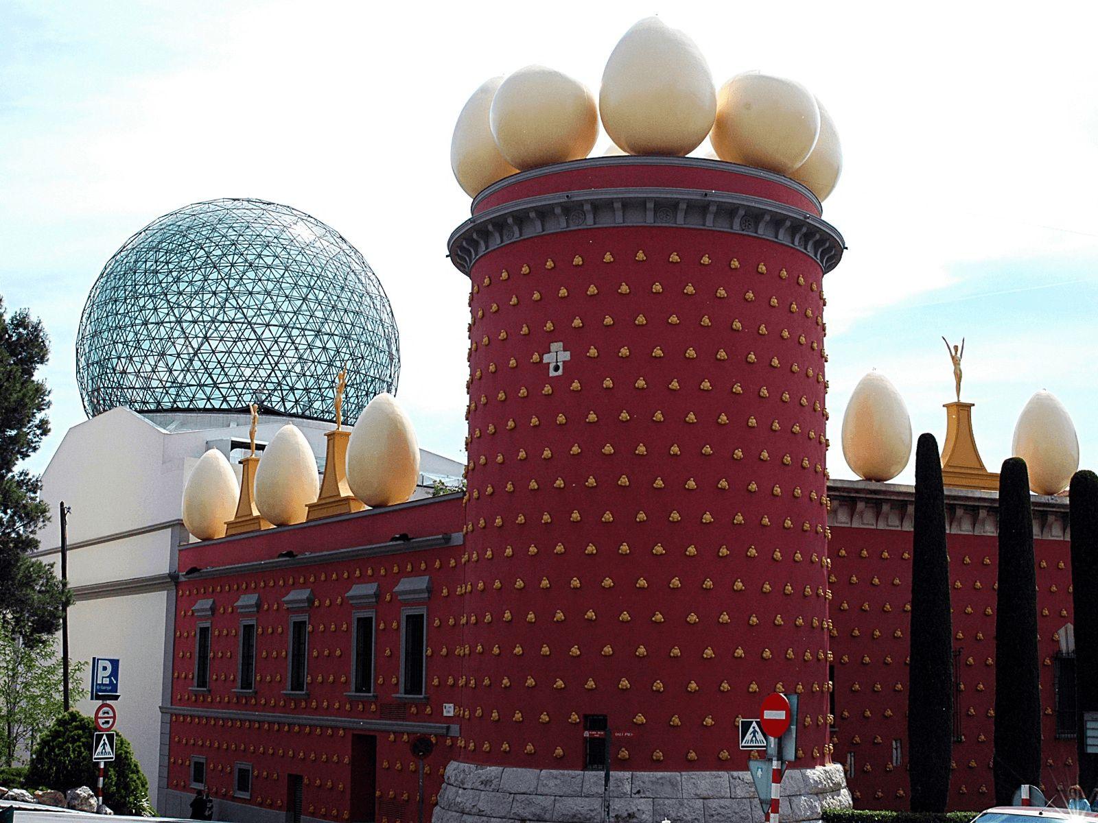 Španjolska i Provansa: Figueres: Muzej teatar Dali