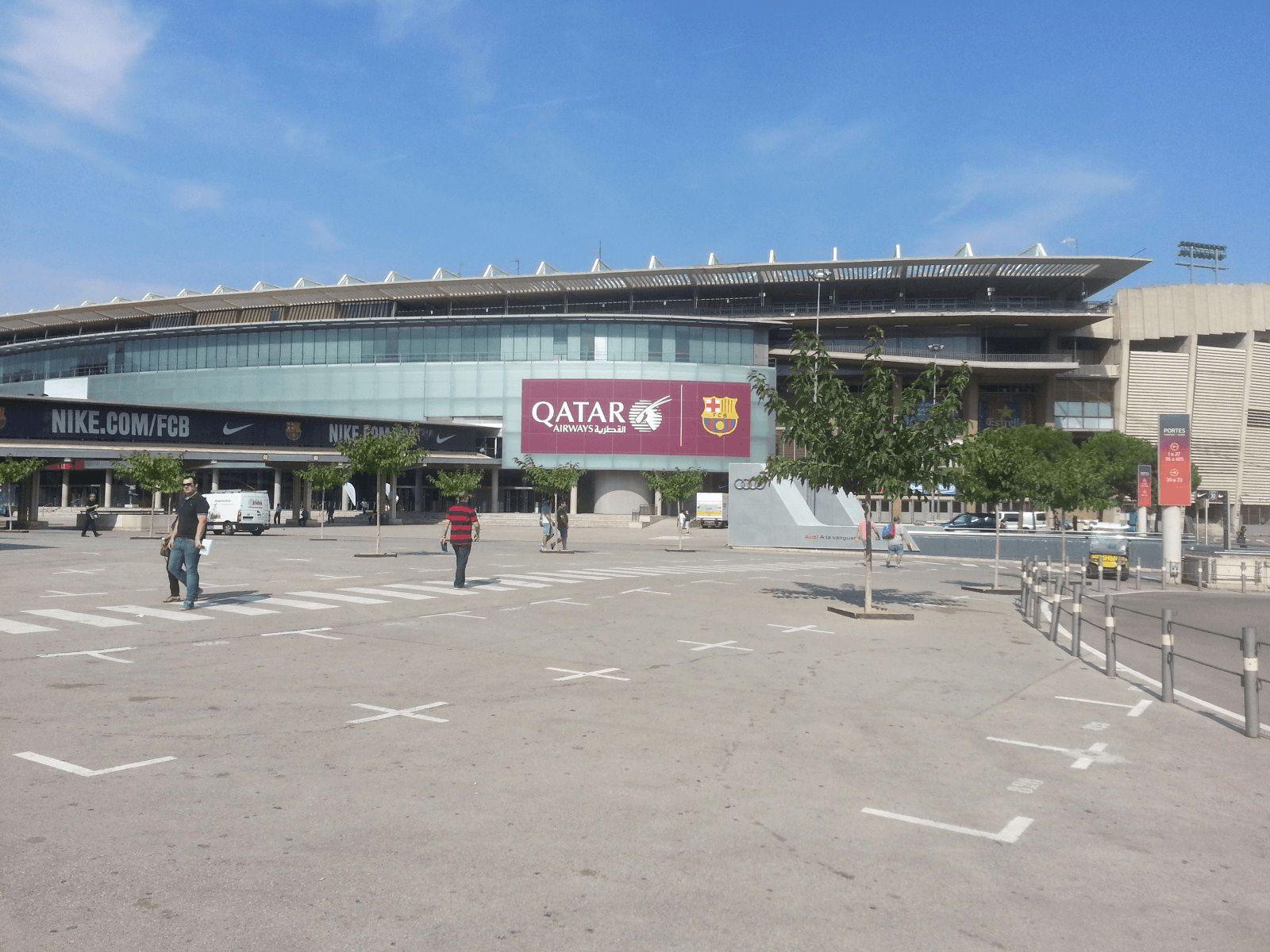 Španjolska i Rim: Barcelona: Camp Nou