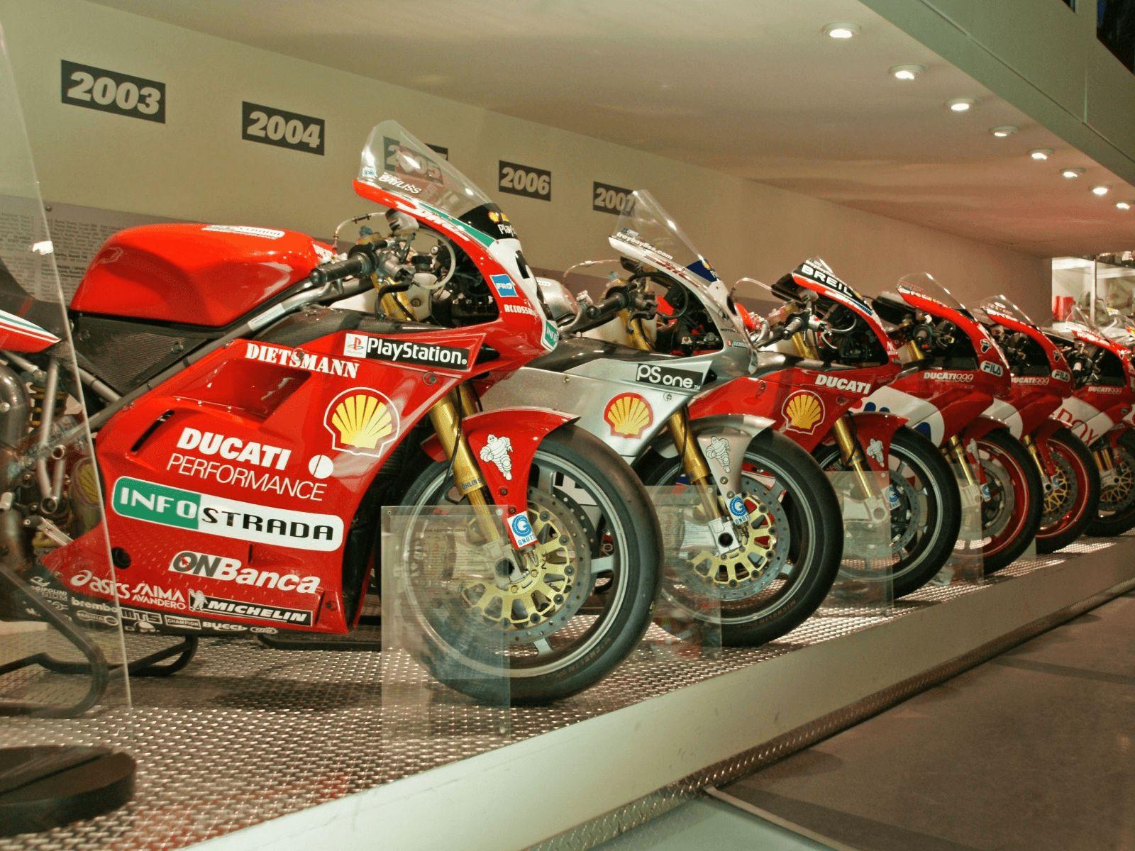 Španjolska i Rim: Bologna: Ducati muzej