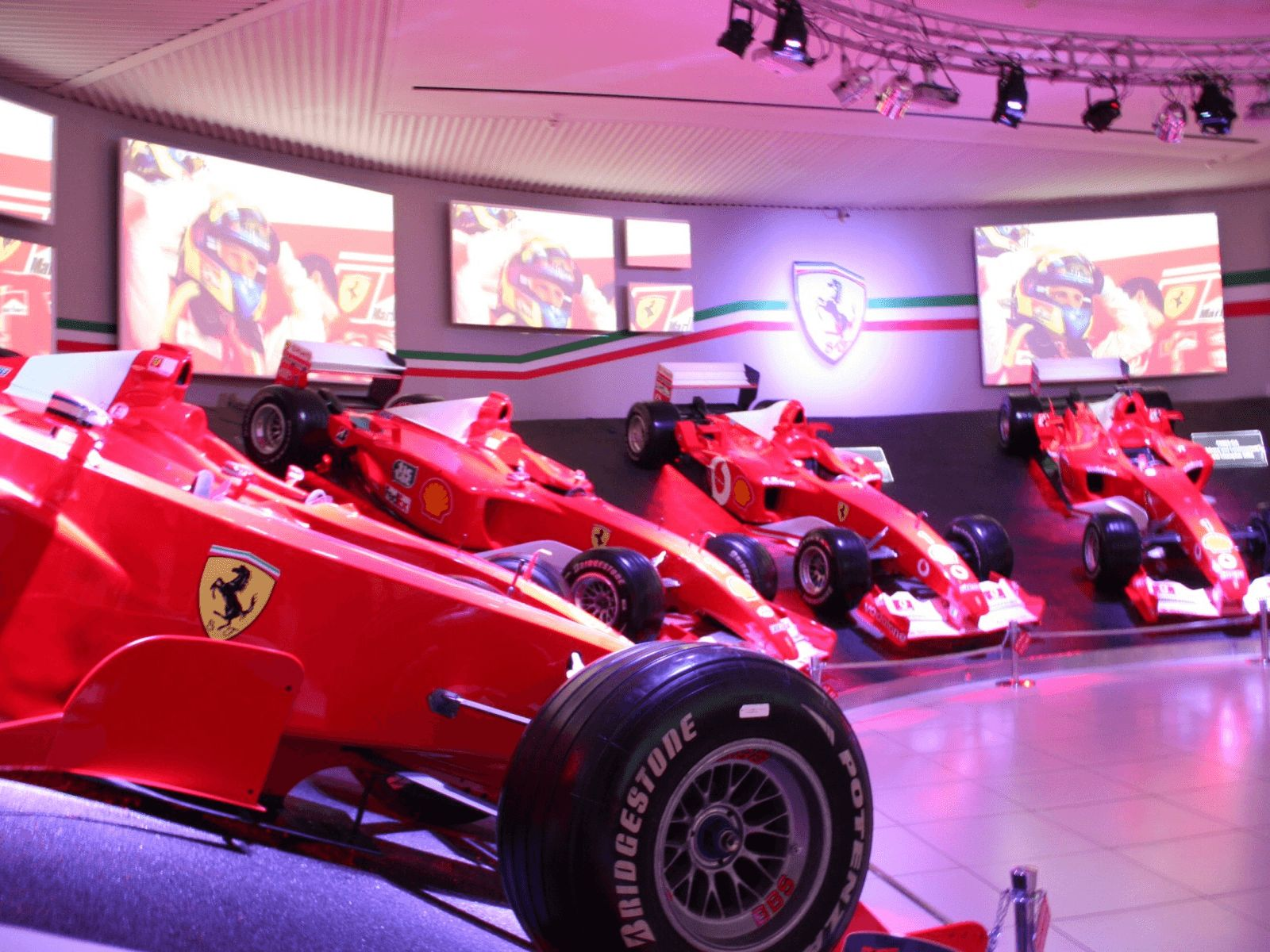 Španjolska i Rim: Bologna: Ferrari muzej