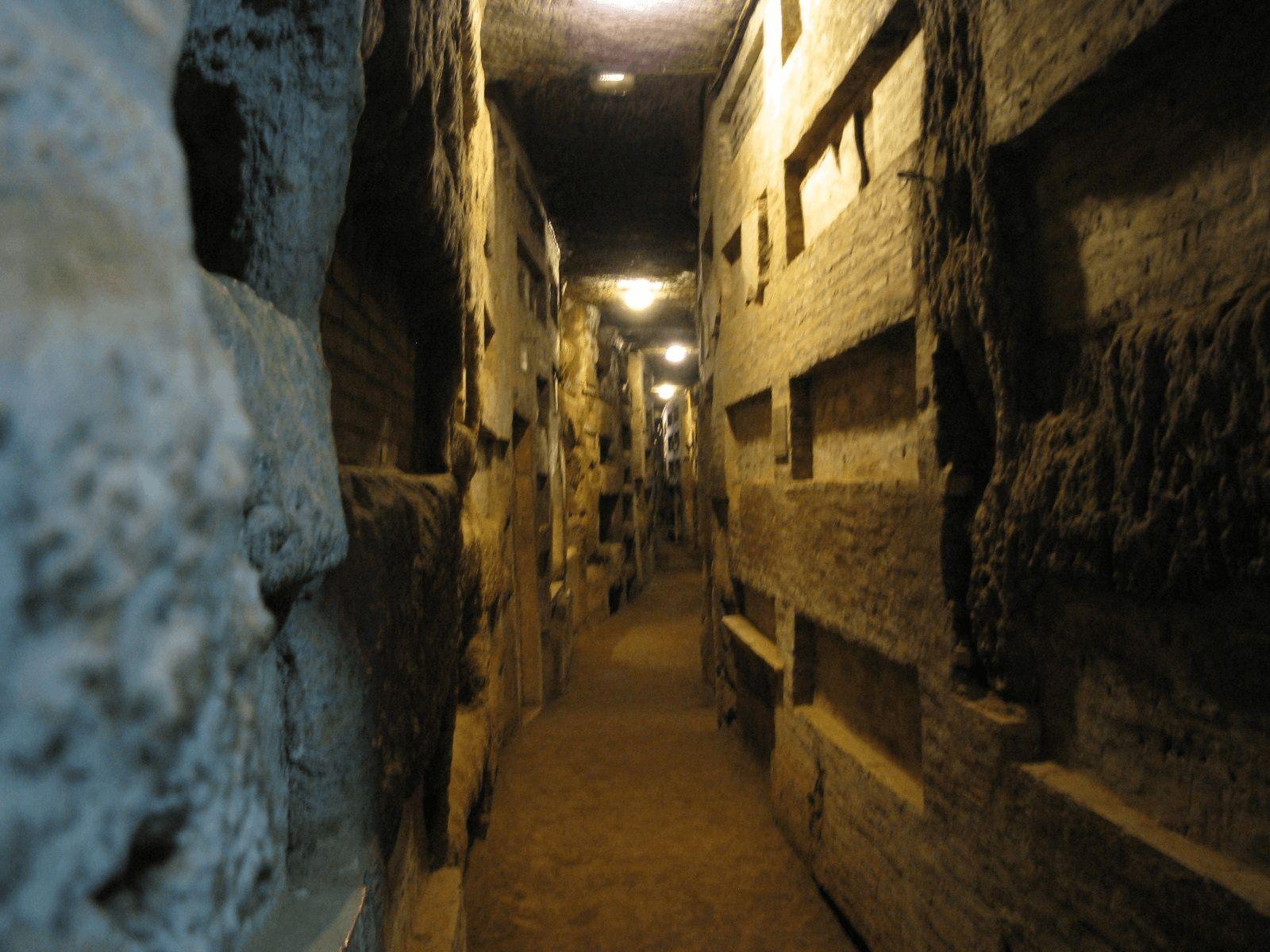 Španjolska i Rim: Rim: Calixtusove katakombe