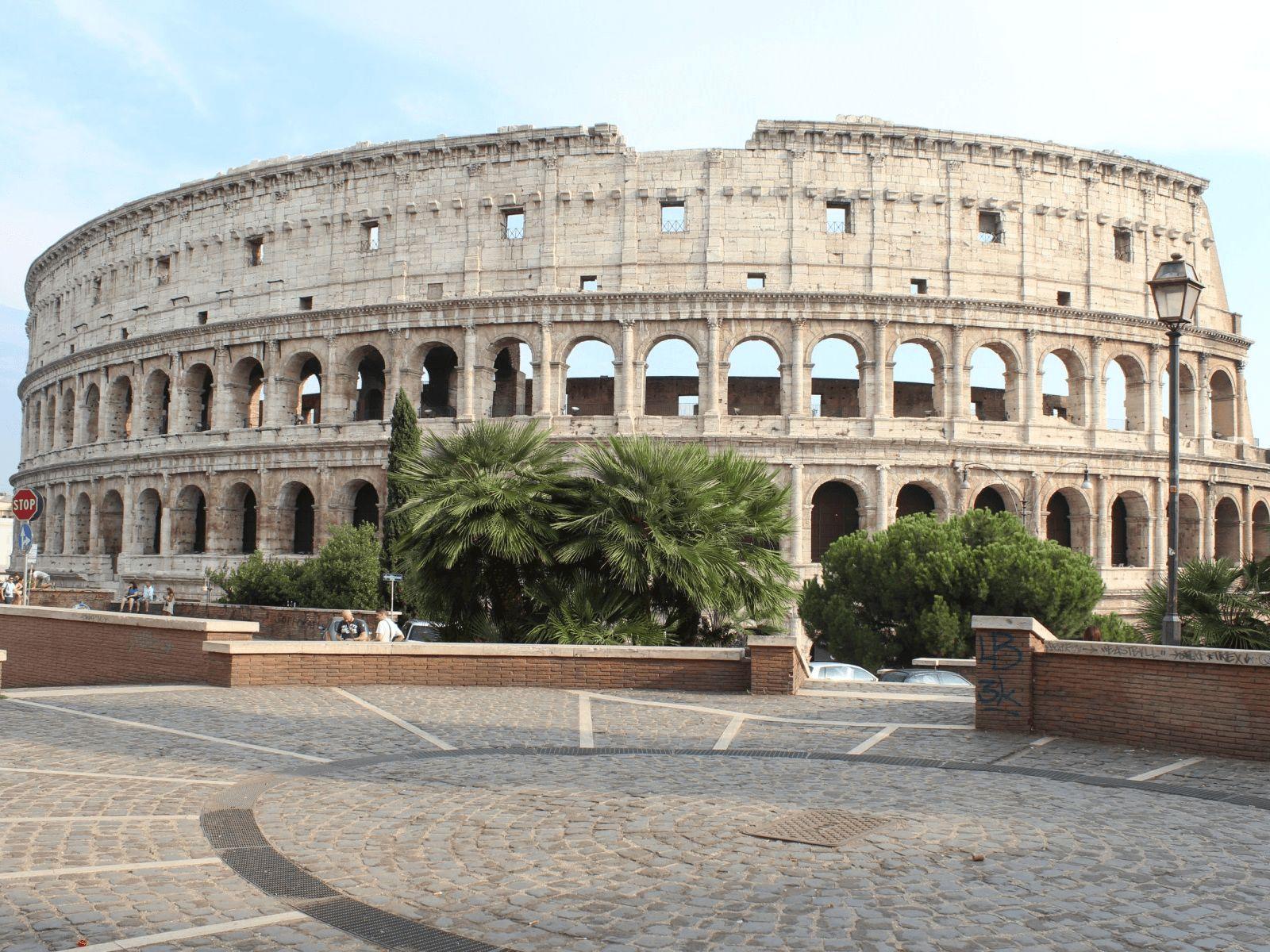 Španjolska i Rim: Rim: koloseum