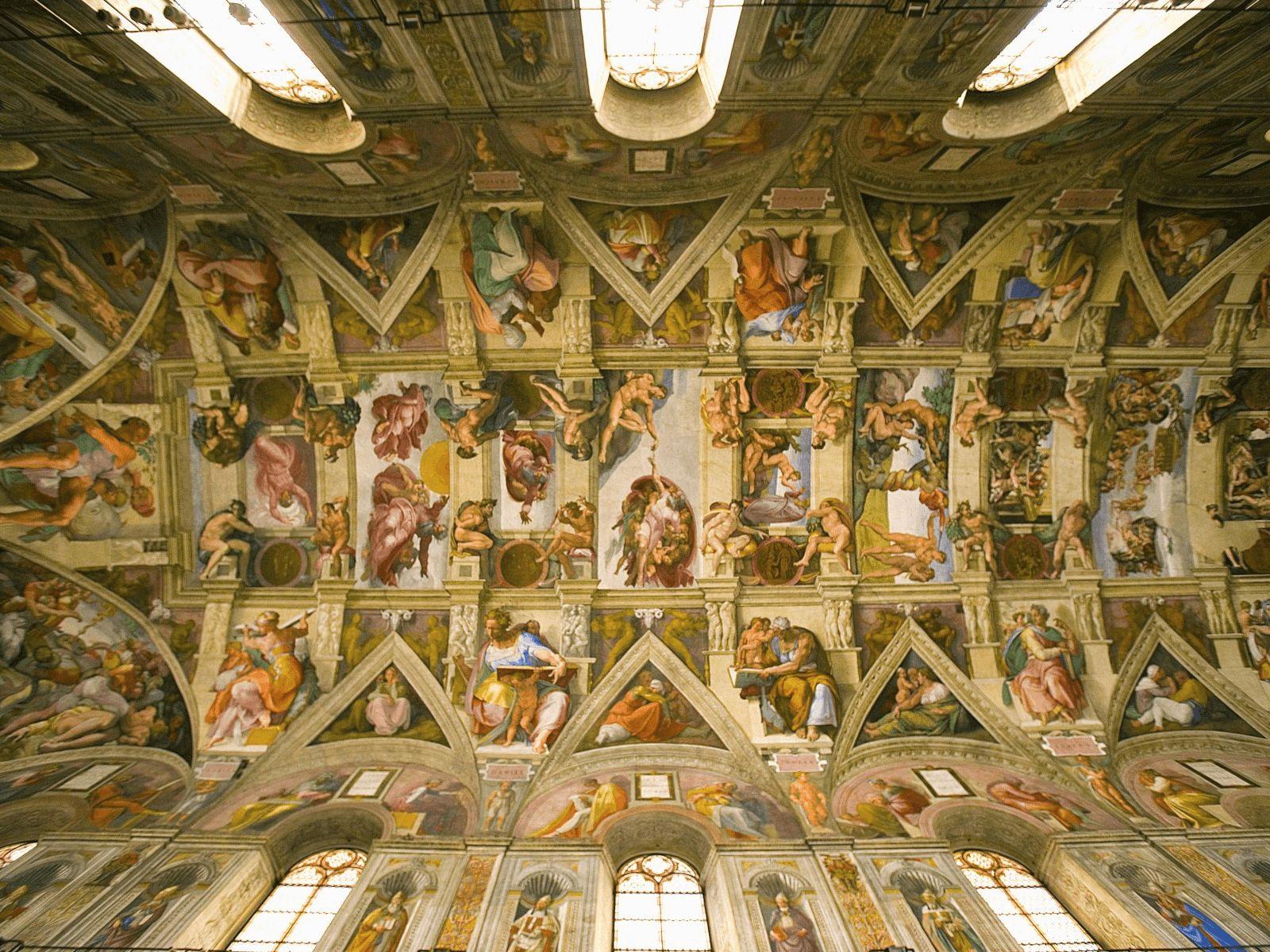 Španjolska i Rim: Vatikan: Sistinka kapela