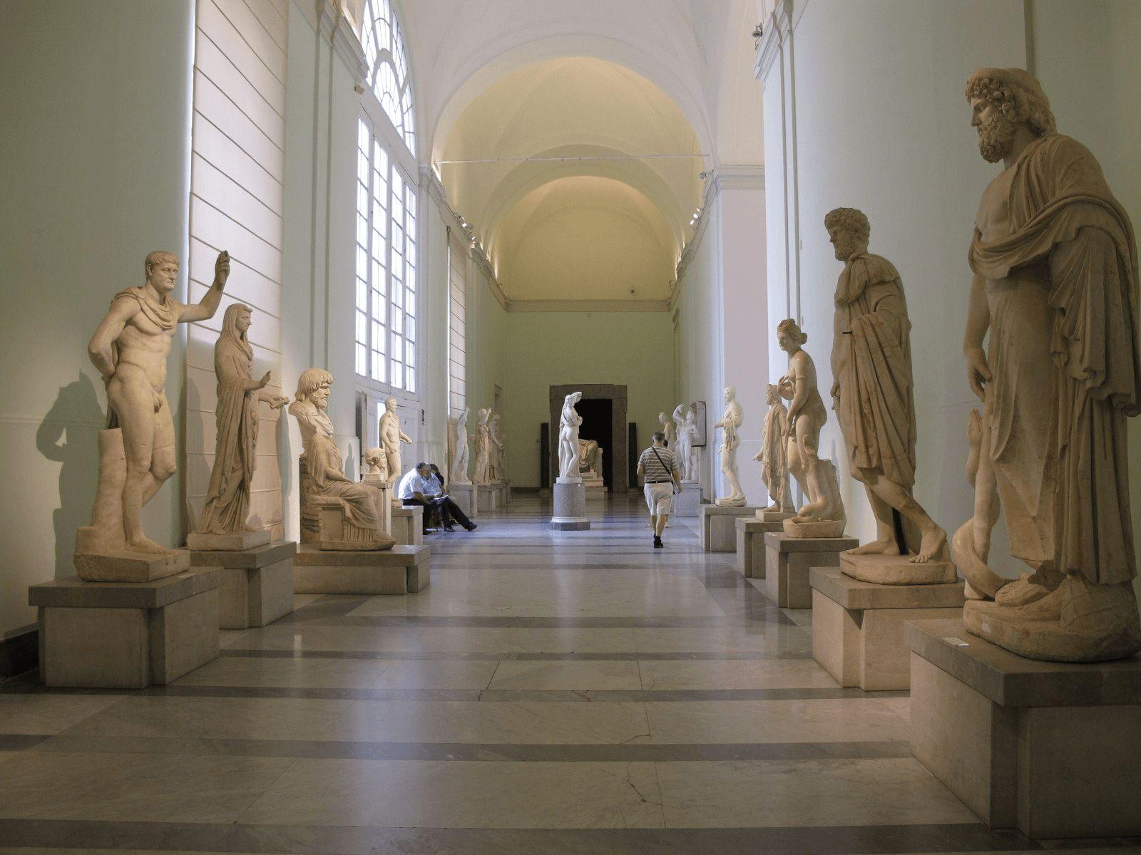 Italija top tour: Napulj: Arheološki muzej