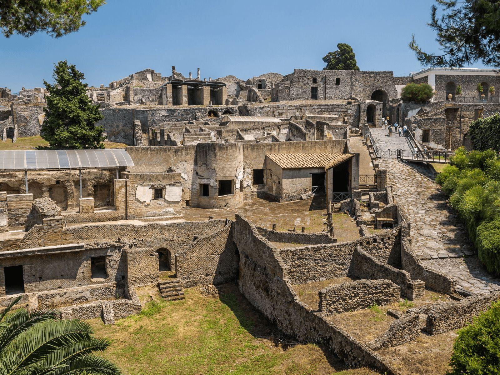 Italija top tour: Pompeji