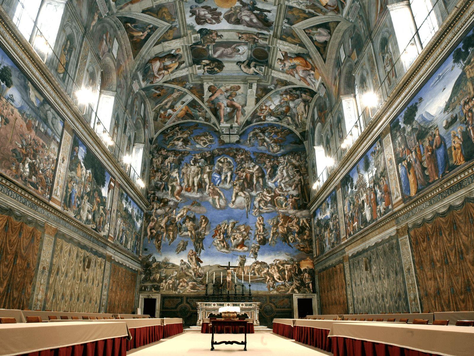 Italija top tour: Vatikan: Sistinska kapela