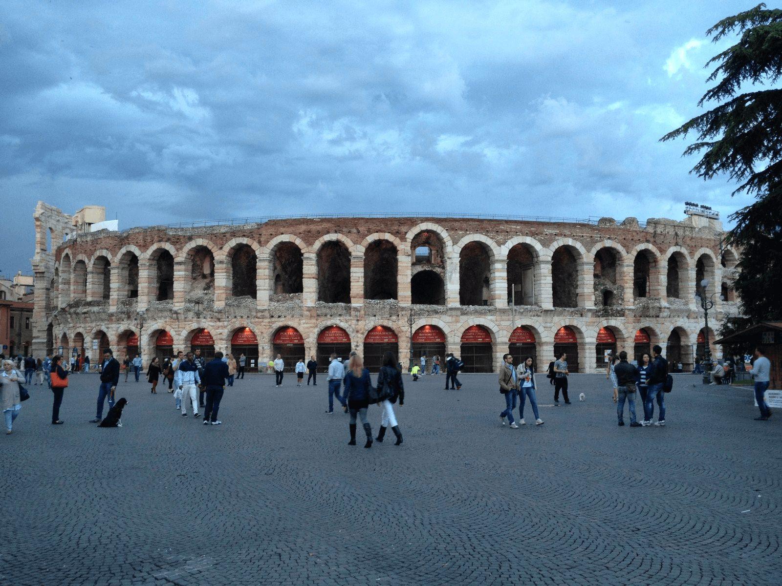 Italija top tour: Verona: arena