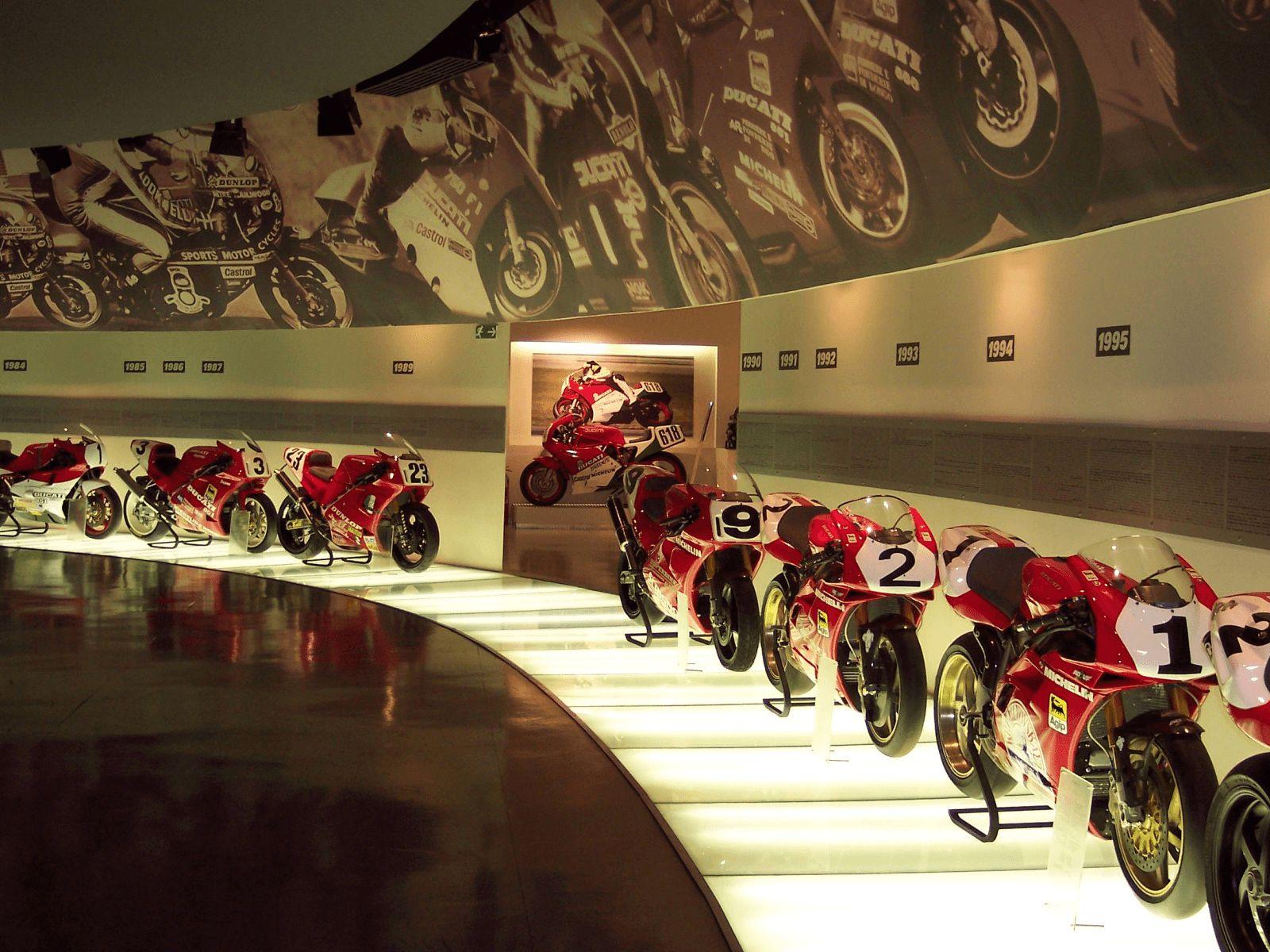 Sjeverna Italija i ljetovalište Rimini: Bologna: Ducati muzej