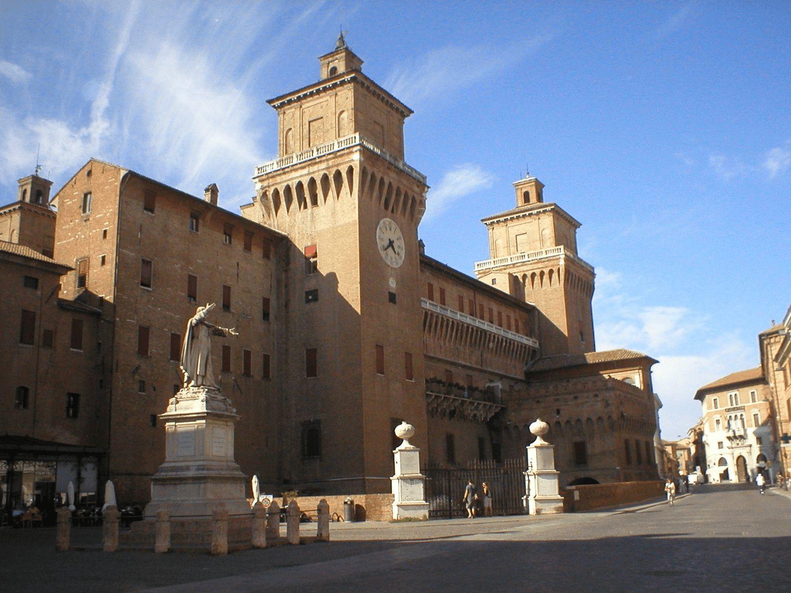 Sjeverna Italija i ljetovalište Rimini: Ferrara