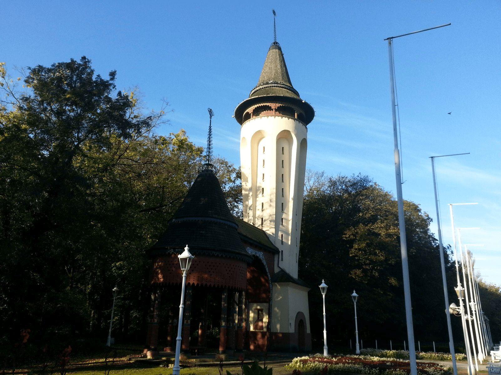 Beograd i Vojvodina: Palić: secesijski vodotoranj