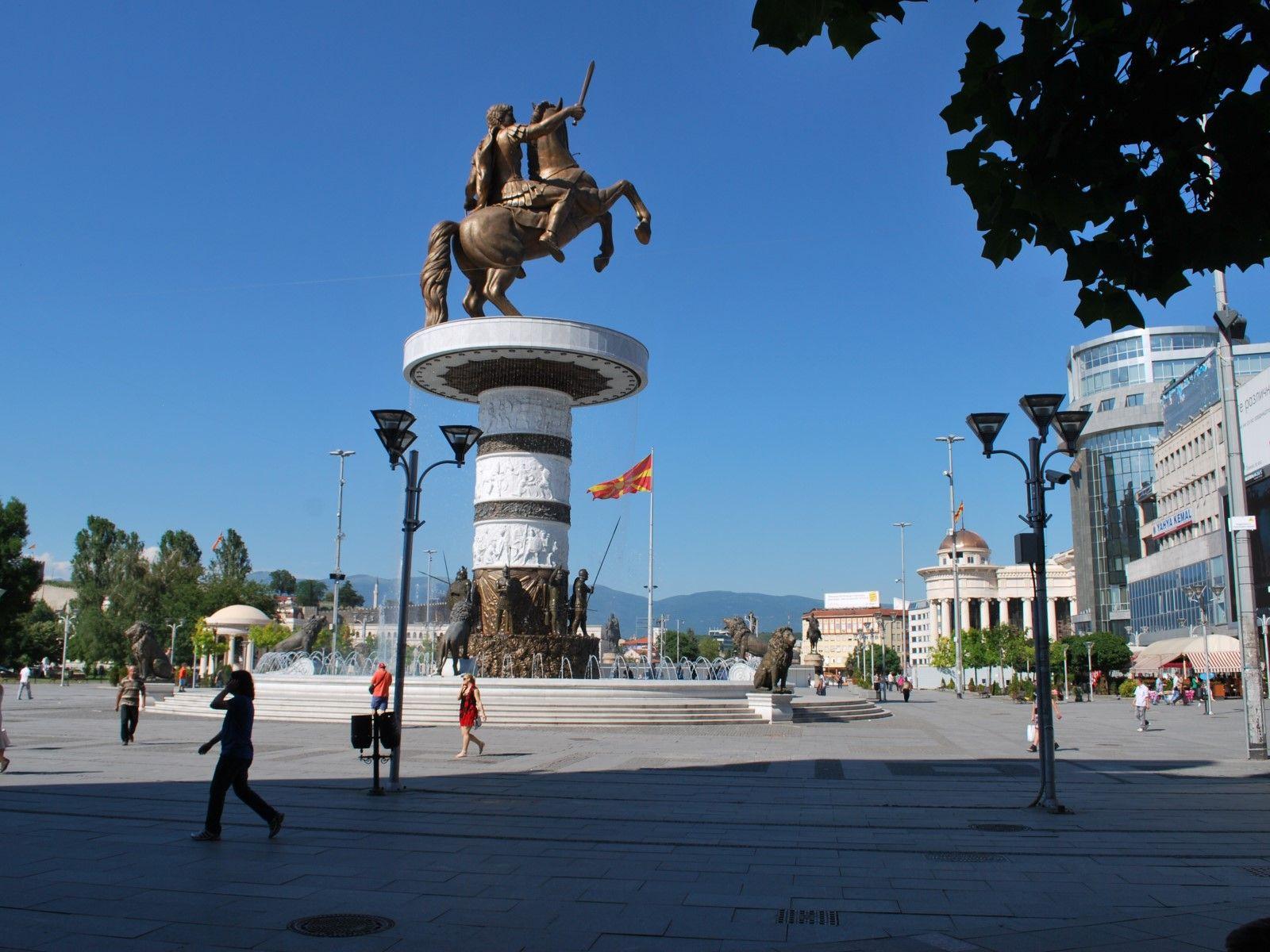 OHRID SPRING BREAK - First minute: Skoplje: Aleksandar Veliki