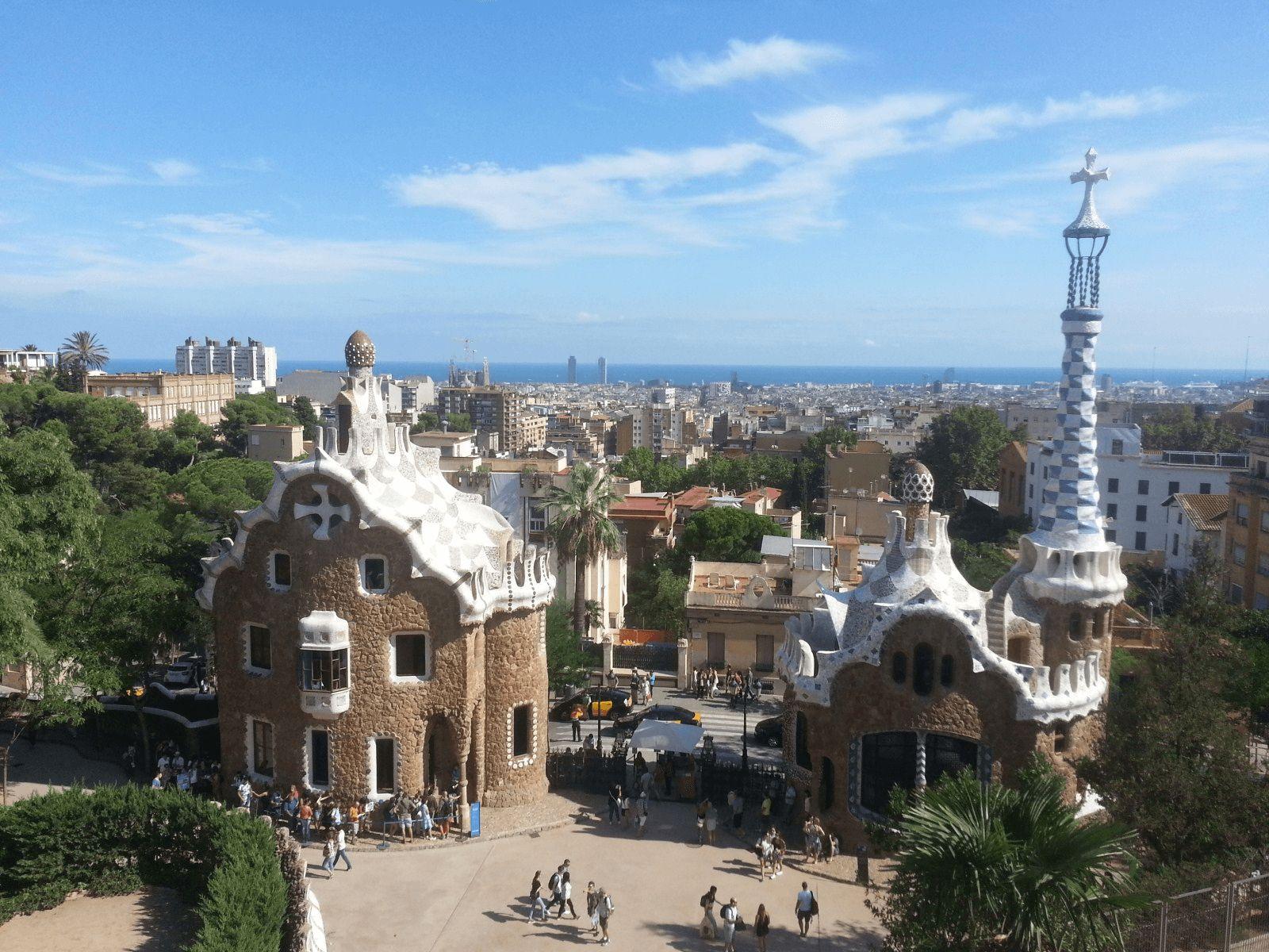 BARCELONA SPANNABIS KRSTARENJE: Barcelona: Park Guell
