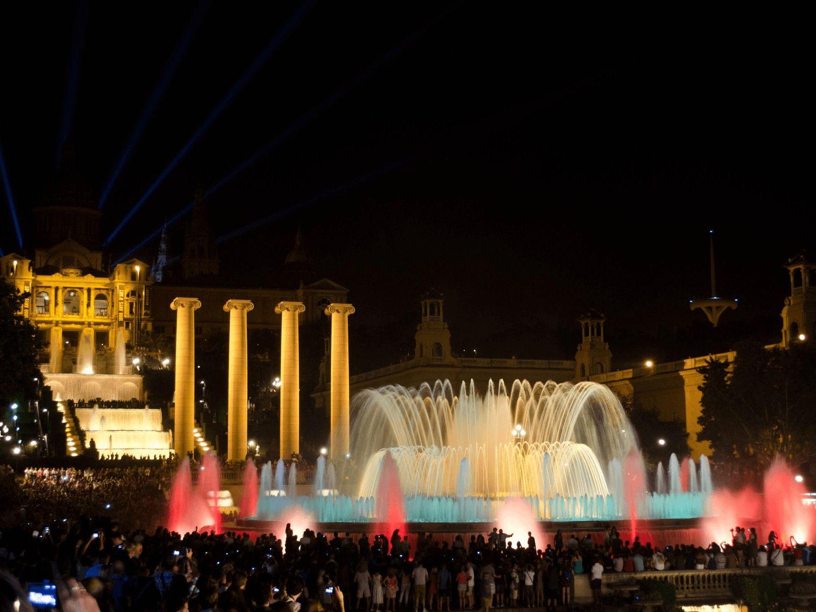 BARCELONA SPANNABIS KRSTARENJE: Barcelona: Čarobne fontane