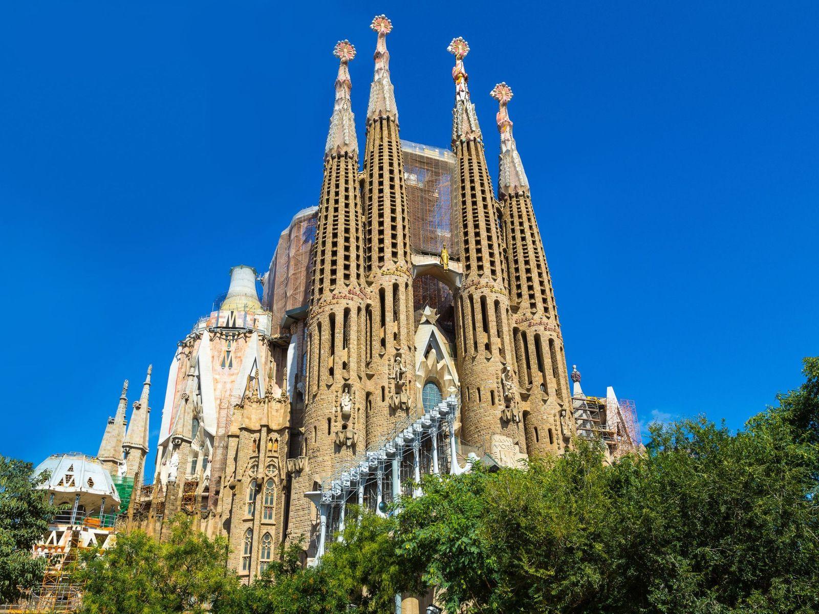 BARCELONA SPANNABIS KRSTARENJE: Barcelona: Sagrada Familia