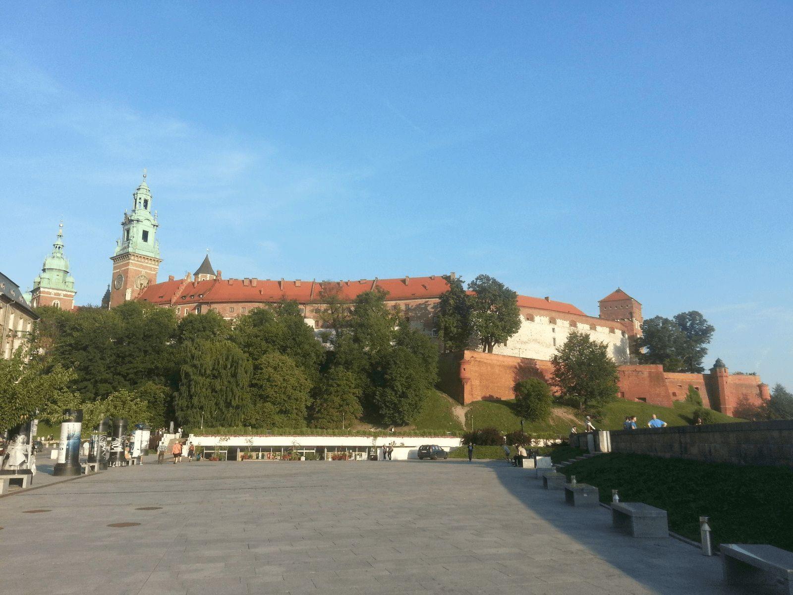 Krakow i Bratislava: Krakow: Dvorac Wawel