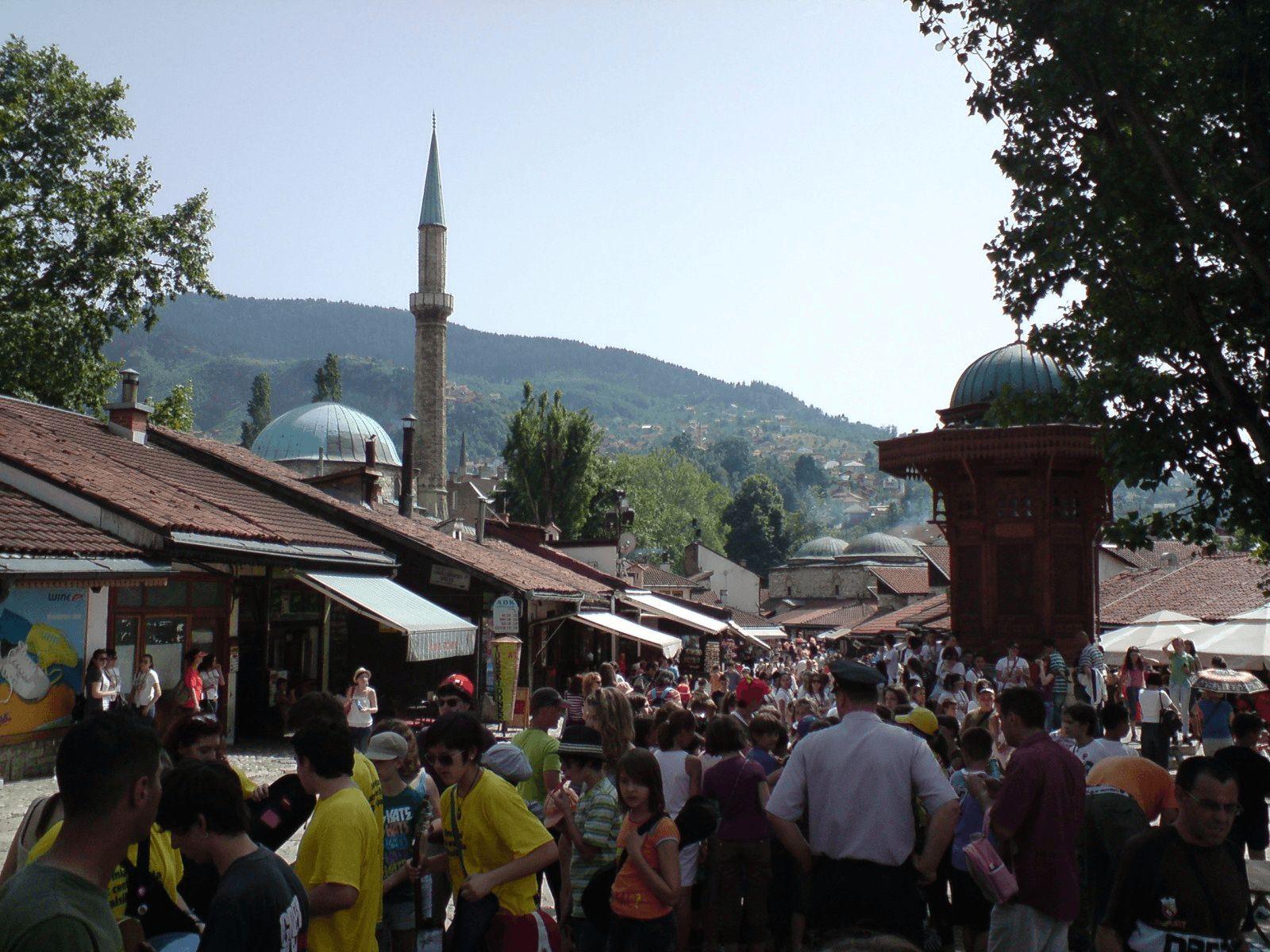 BALKAN TURA - First Minute!: Sarajevo: Baščaršija